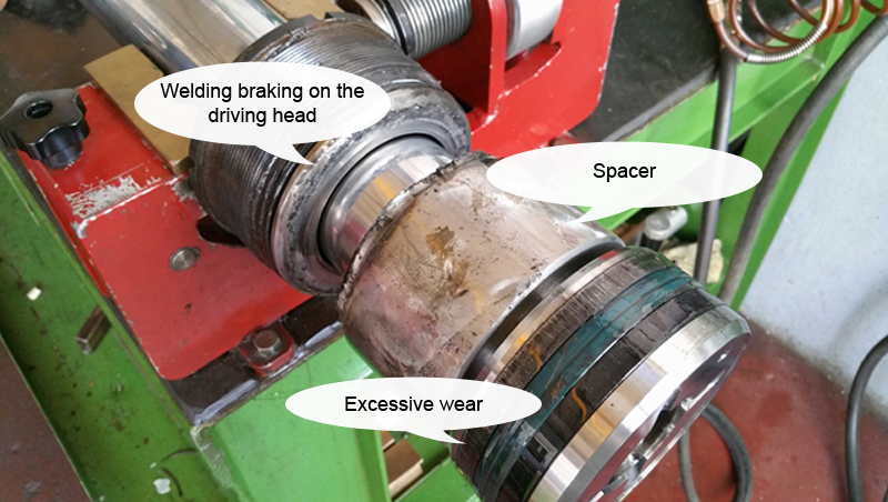 Hydraulic cylinder repair - Omas